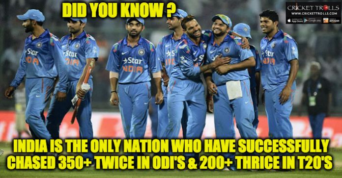 #TeamIndia #ODI #T20I   Indian Cricket Team- A good chasing side  http://www.crickettrolls.com/2016/02/03/team-india-a-good-chasing-side/