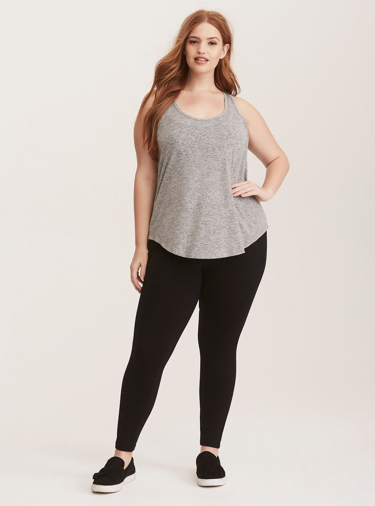 a8d5fd1144602 Torrid Active - Tank Top with Built-In Sports Bra