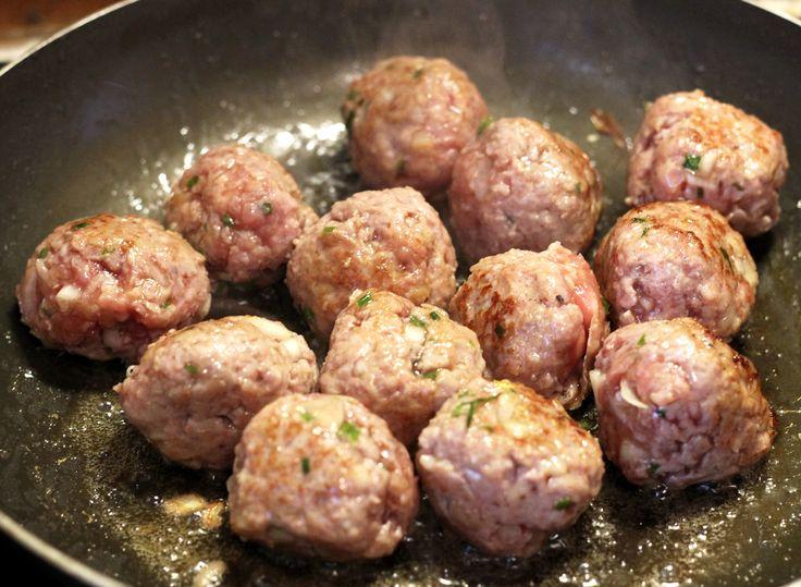 Boulettes de viande Viet' - Bun Cha