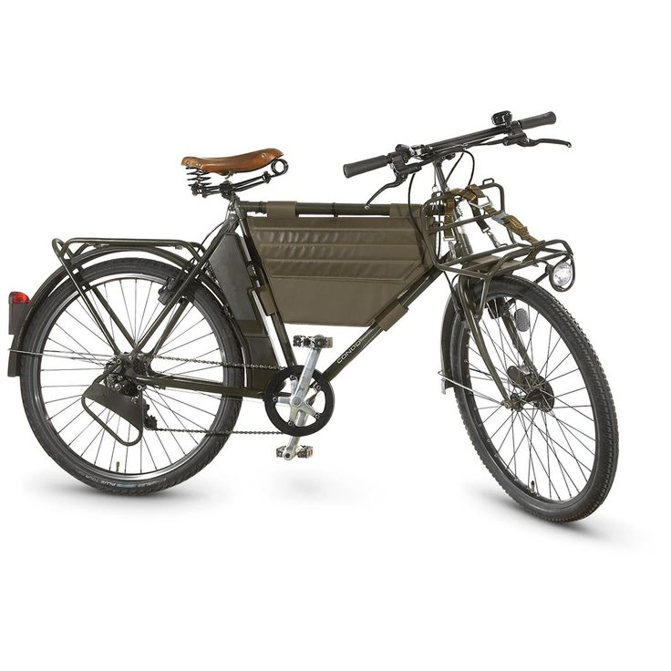 Swiss Army MO-93 Military Bicycle, 7-Speed - 637593, Field Gear at Sportsman's Guide