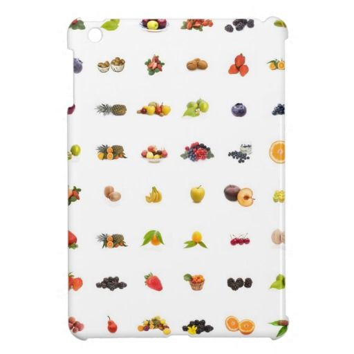Tutti Frutti iPad Mini Case from Zazzle.com Take it today only with 50% discount (off all cases) with code CASEOFMONDAY