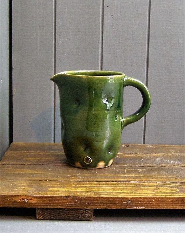 Three Pint Ale Jug - Hand Thrown Pottery £35.00