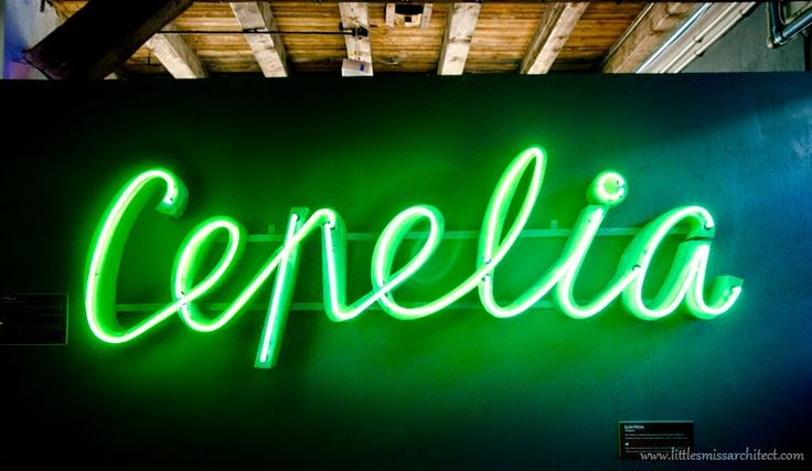 Neon design in Warsaw, neons