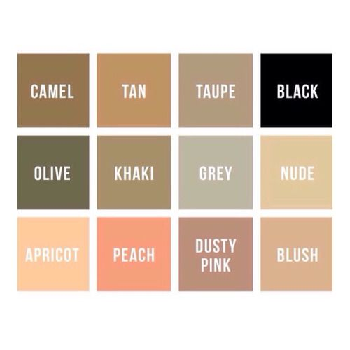 Dream colour palette right there  #fblogger #instaglam #tan #black #grey #olive #khaki #palette #lookbook #shaded #neutrals #weheartit #inspo #wardrobe #fashionista #blogger #inspo #styling #clothes #fashionkillas #aboutalook by carahitchener http://ift.tt/1xjBhoV