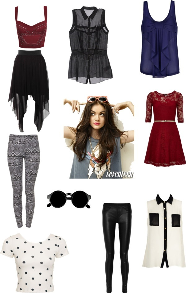 Aria Montgomery Pll By Tslover13 Liked On Polyvore Pll
