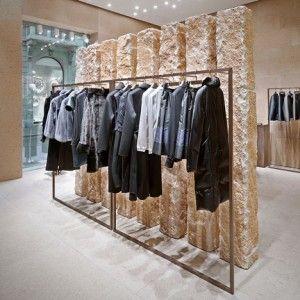 Giada Milan flagship store  by Claudio Silvestrin