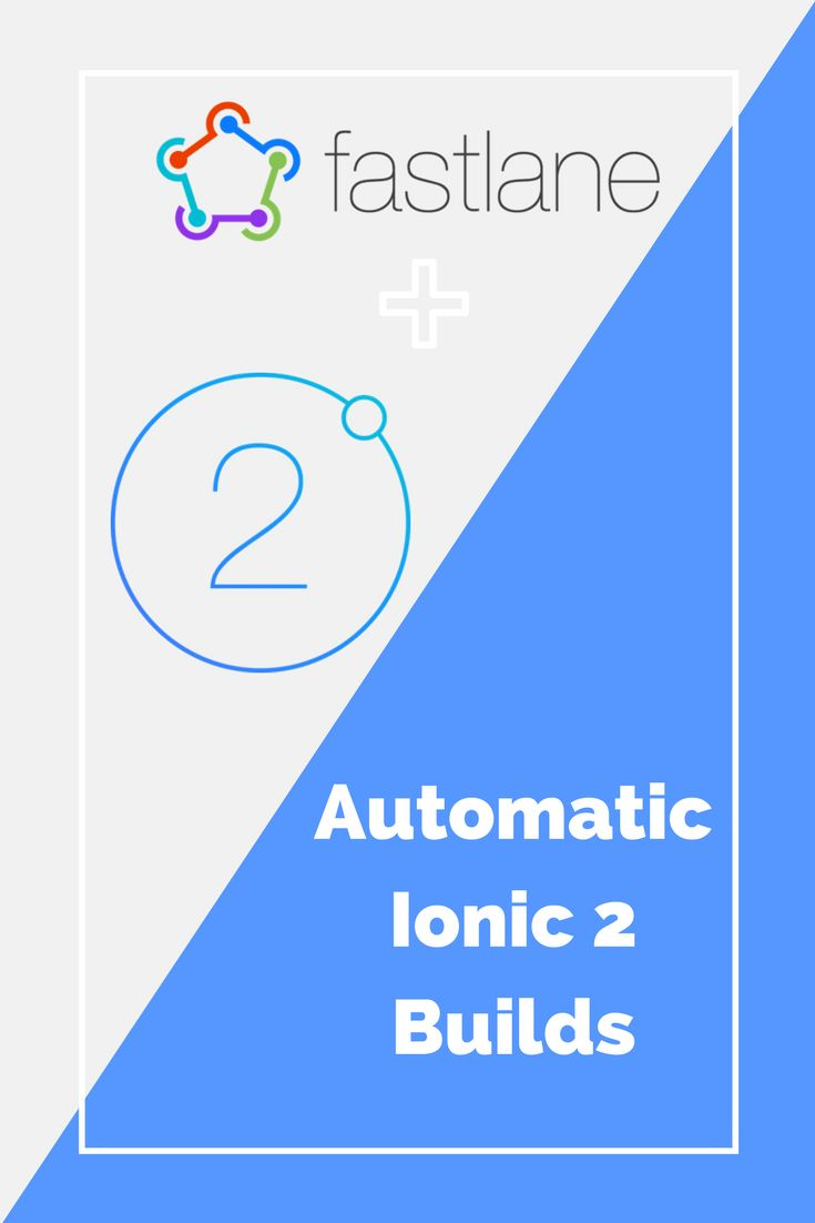 Automatic Ionic 2 Builds For iOS Using Fastlane! Automate your building process and save you & your team a lot of time.