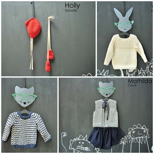 Cotton & Milk's A/W12 collection: knits for boys and girls.    Isn't this lovely?