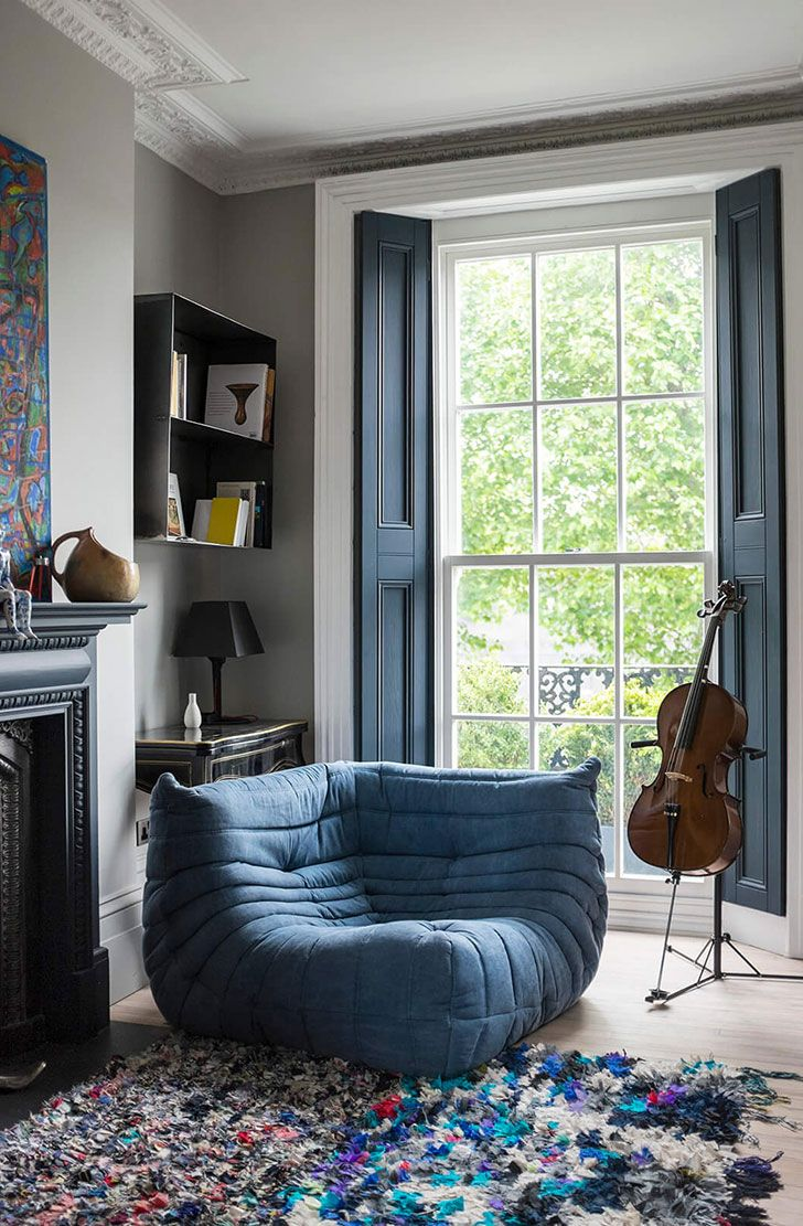 Historic townhouse with bold modern interiors in london pufik beautiful interiors online magazine