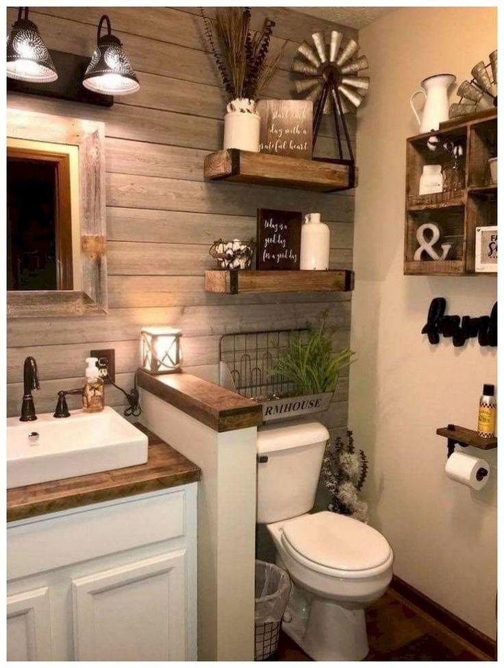 58 Amazing Cottage Bathroom Design Ideas #bathroomremodel