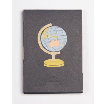 Pocket Pad - Globe - Bobangles #SundayPaper #Australia #travel #pocketPad #globe #world