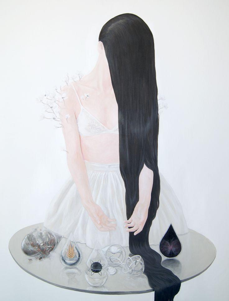 """Chaos Reigns"" 90x70 cm acrylic on canvas 2014"