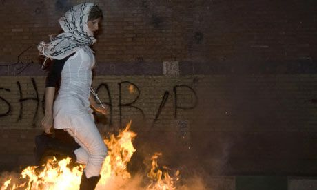 Saeed Kamali Dehghan: The violence at the Chaharshanbe Suri shows how Iranians use it to vent their anger against the Islamic Republic
