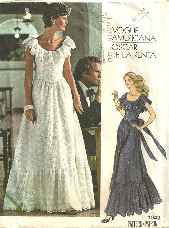 Vogue 1043   1974 Oscar de la Renta