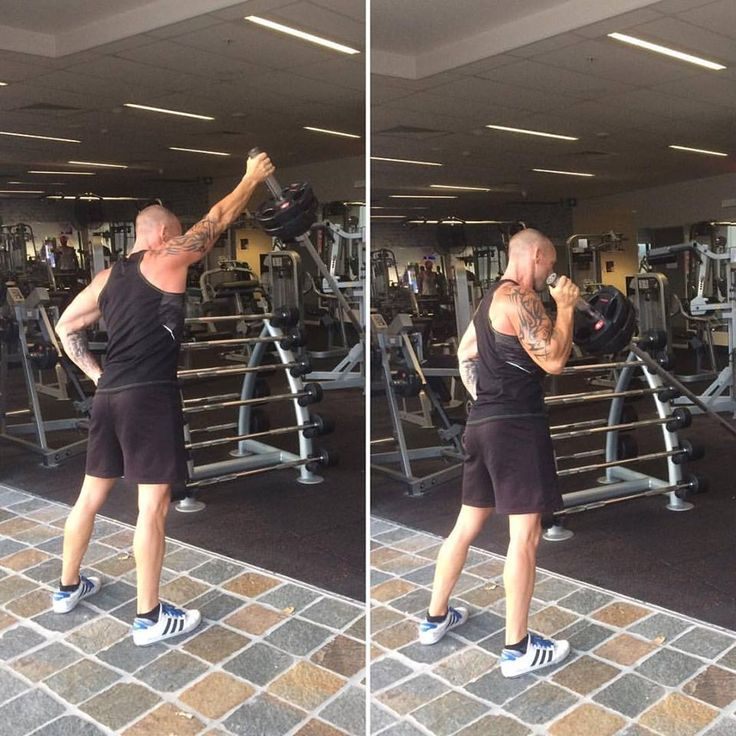 Happy Hump Day Friends. Today's exercise is Landmine Single Arm Press. Try super setting this exercise with Wall Balls.