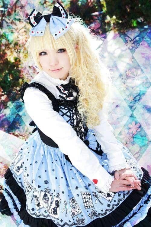 #Cute #Kawaii #Lolita #LolitaFashion #LolitaMode #LolitaStyle #JapaneseMode #Girl #Dress