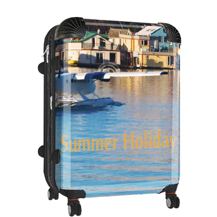 A holiday destination you want to always remember get that photo on a personalised suitcase