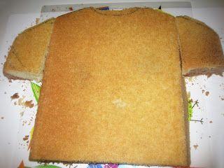 MIS RECETAS MÁS DULCES- cursos de galletas decoradas y más: TARTA CAMISETA DEL REAL MADRID