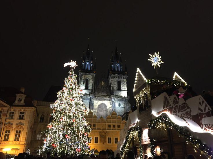 Christmas at Prague #enchantingcity