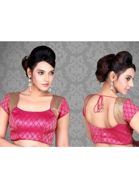 Pink Sarees Blouse