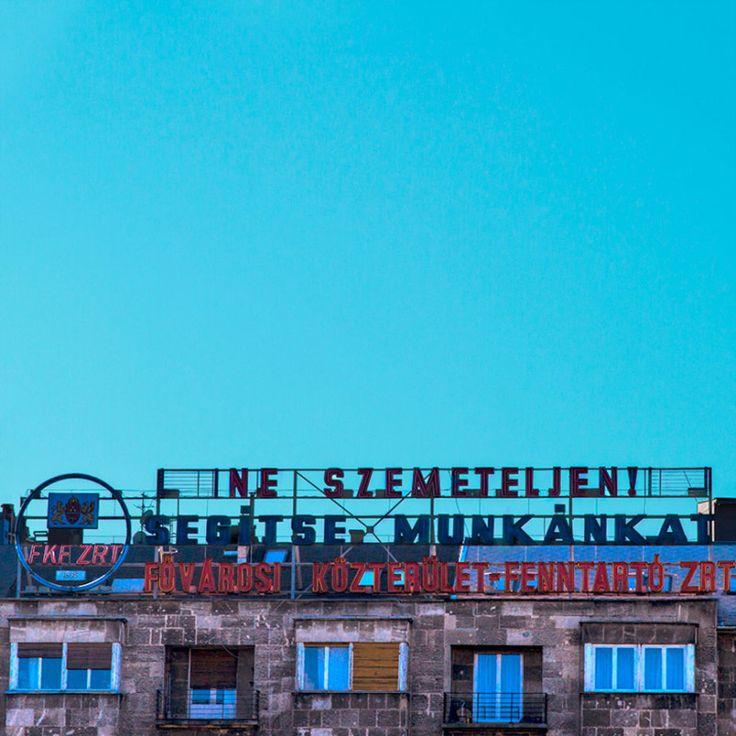 A barcelonai lány, aki ártatlanságuk miatt kattant rá Budapest régi cégéreire, és fotóin újjáteremti őket - 7. kép