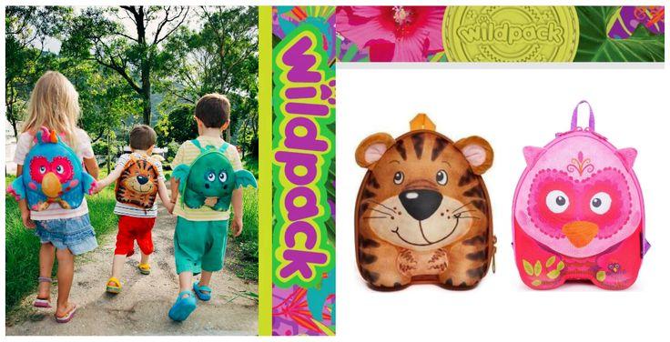 Υπέροχα Σακίδια για τους μικρούς μας φίλους! Σακίδιο Πλάτης OKIEDOG 3d