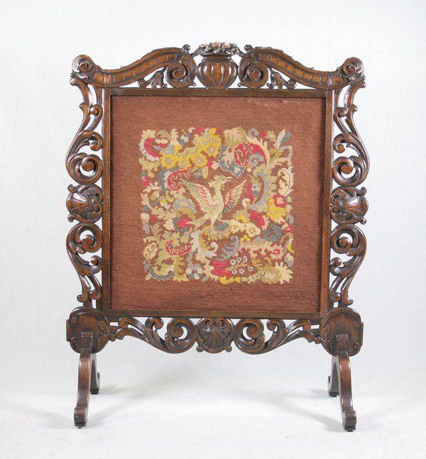 Victorian Mahogany Fireplace Screen Fireplace Screens Covers Pinterest Fireplace Screens