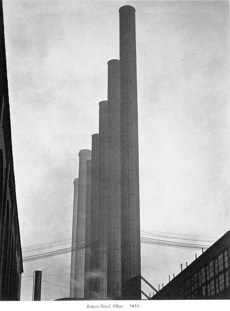 Edward Weston - Armco Steel. Ohio 1922 | Flickr - Photo Sharing!