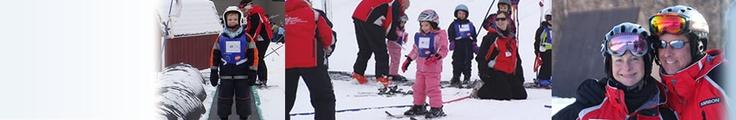 Shawnee Mountain in the Poconos for ski season, children's programs and sled riding