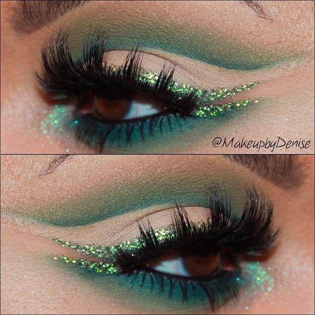 Green cut crease ♢