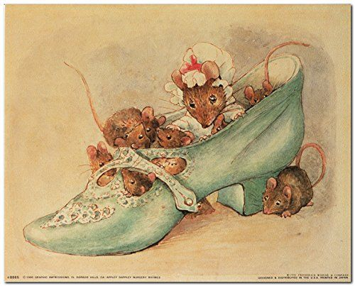 Simply superb! Beatrix potter art print poster carries a beautiful story to tell. This poster captures the image of which follows nursery rhymes of Beatrix Potter's Appley Dapply. If you have a little one in your life, it would be a perfect gift for him. It will attract new generations of little ones and would be a great addition for your kid's room. Hurry up and order this poster for its excellent quality with high degree of color accuracy.