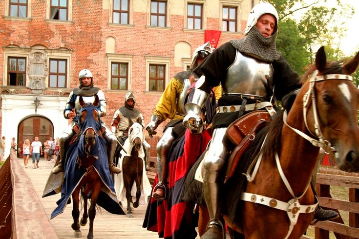 In central Poland in the charming spa town Uniejów in the beautiful setting of the 14th century Archbishops Castle and the Castellum the Big Knight's Tournament takes place every July.
