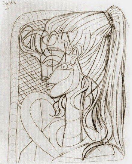 Πορτρέτο της Sylvette David-Corbett
