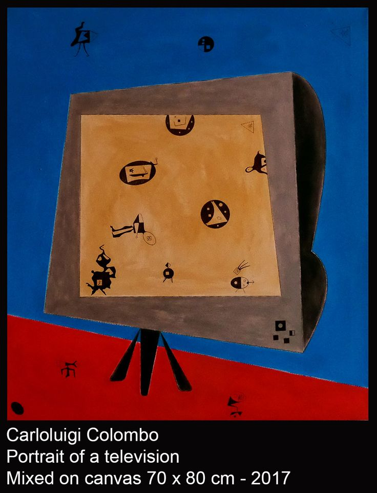 Television, Colombo, art, Riolo Terme, esorinism, Faenza, paintings,