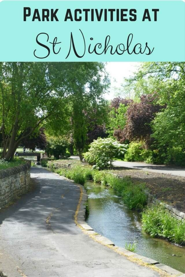 St Nicholas Park Warwick - park exploration and bike riding essential activities for families Bubbablue and me