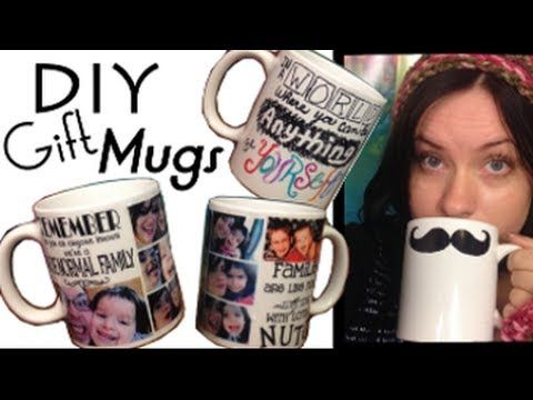 ▶ DIY Personalized Mug | EASY CHEAP CHRISTMAS GIFT | Step by Step Tutorial - YouTube