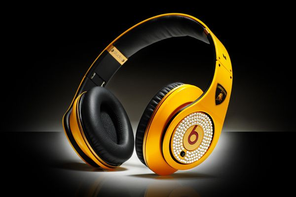 Monster Beats Studio Lamborghini Diamond Headphones