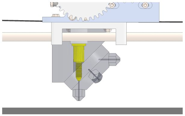 3ders.org - CEM Crown Extruder, microscope inspired extruder for 3D printer   3D Printer News & 3D Printing News