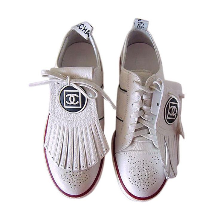 Chanel Golf Shoes. For the girl who has everything and somehow manages to enjoy playing golf.