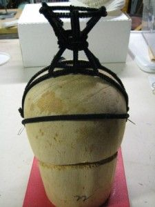 Very detailed instructions for making the frame of a showgirl headdress. Could come in handy in the future.