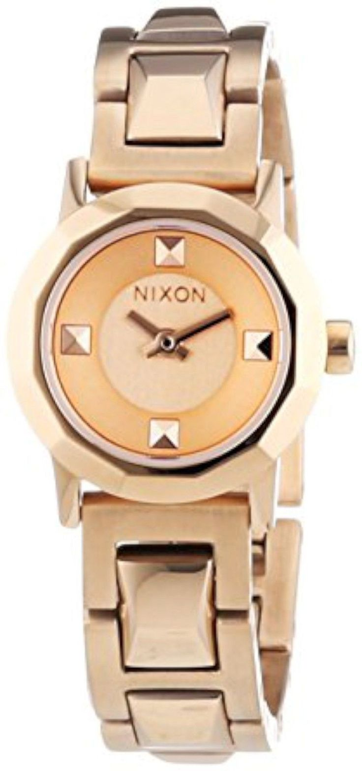 #nixon #rosegold #gold #fashion #watch #designer #fashion #watches #accessory #luxury #womens #women's #trendy #motherofpearl #mop #style #couture #analog #quartz #new #crystal