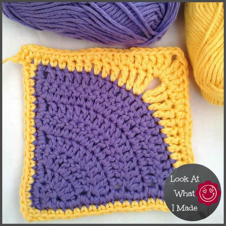 Iced Pie Square Crochet. I LOVE this!  Pattern free crochet patterns. ☀CQ #crochet #grannysquare #motifs   http://www.pinterest.com/CoronaQueen/crochet-granny-squares-and-motifs-corona/