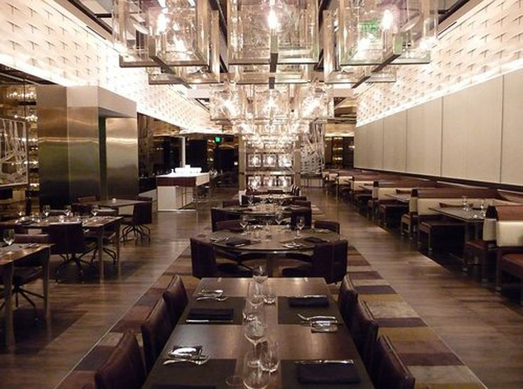 Contemporary Aesthetic Restaurant Interior Design Of CUT By Wolfgang Puck Las Vegas