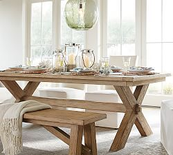 17 best images about farmhouse table on pinterest trestle table railway sleepers and legs - Timelessly classic dining table designs long lasting beauty function ...