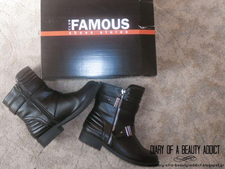 Famous Black Ankle Boots