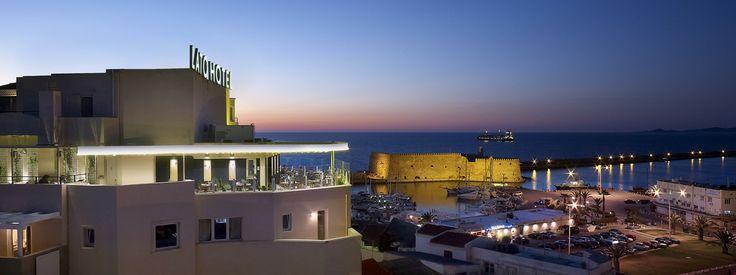 Lato Boutique Hotel in Heraklion city, Crete island, Greece £80pn