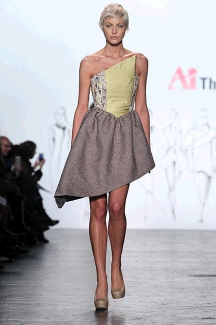 Tatiana Cochagne for The Art Institutes @ New York Fashion Week // Fall 2016