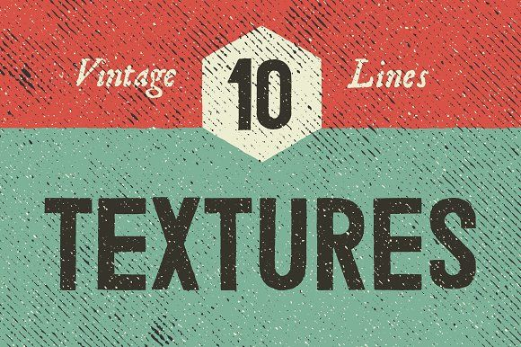Vintage Line Textures by GhostlyPixels on @creativemarket