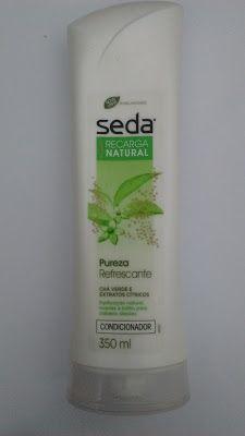 Maquiagem de óculos: Condicionador Recarga Natural Pureza Refrescante, ...