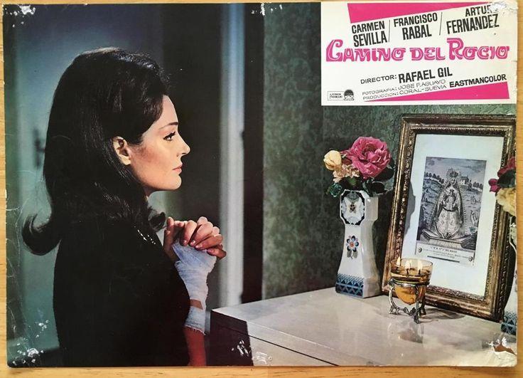 Carmen Sevilla Praying to The Virgin of El Rocío Camino Del Rocío Lobby Card 331 | eBay
